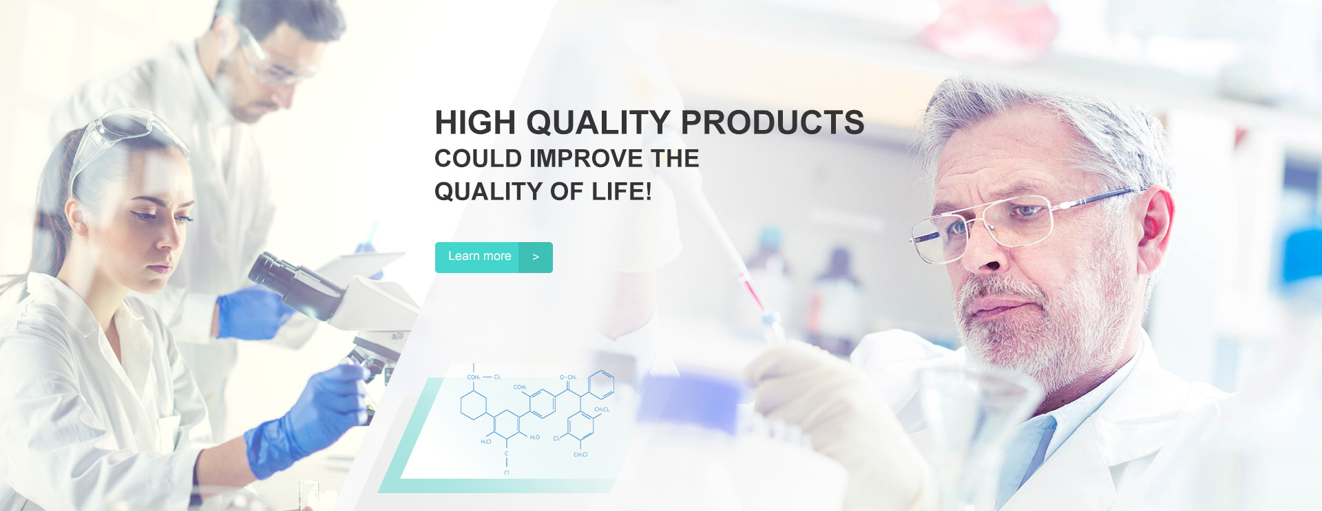 HIGH QUALITY PRODUCTS COULD IMPROVE THE QUALITY OF LIFE!