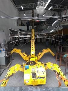 Factory Cheap Hot Tower Lifting Spider Crane -