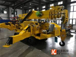 KB8.0 mini crawler crane with two powers diesel engine and electric power