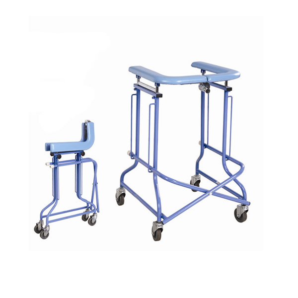 Factory Outlets Orthopedic Traction Bed - Walking frame with seat and brake – Kondak Medical Featured Image