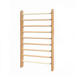 Factory Price Rehabilitation Physical Therapy Equipment - Children wood wall bar – Kondak Medical