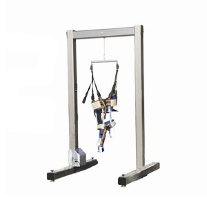 Electric gait training frame