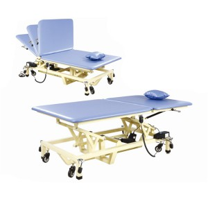 Factory Free sample Electrical Therapy Equipment - Electric Lifting Folding PT Training Bed(2 sections) KD-PTC-03 – Kondak Medical