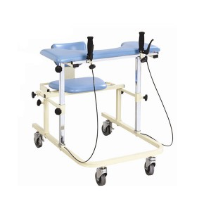 factory customized Electric Physical Therapy Bed - Walking frame with seat and brake – Kondak Medical