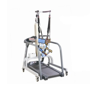 Medical treadmill gait trainer