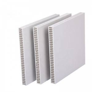 High Reuse PP Hollow Sheet Plastic Building Formwork For Concrete