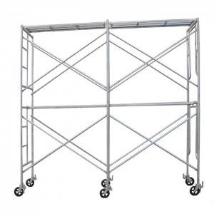 Hot Dipped Galvanized Mobile Mason H Frame Scaffolding