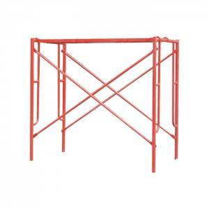 Painted H Frame Scaffolding System