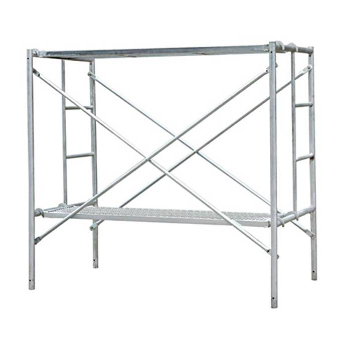 Hot Dipped Galvanized Mobile Mason H Frame Scaffolding Featured Image