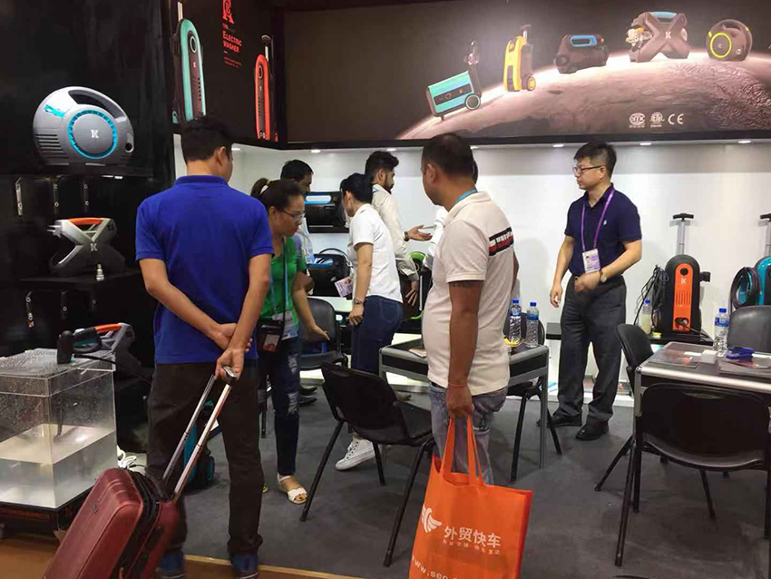 Ningbo collier company participated in the 126th Canton Fair
