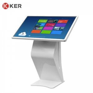 43 Inch Horizontal Touch Infrared Inquiry Machine Android Interactive Touch Screen Kiosk