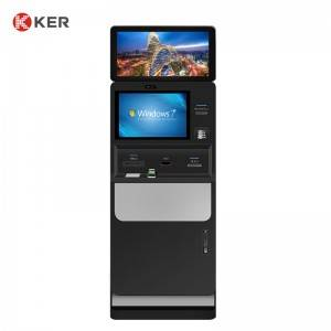 "KER Dual Screen 19"" 23.6"" Hotel Self-Check-in Machine"