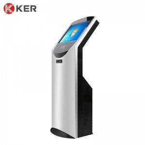 "KER-T005A 19"" Standard Touch Inquiry Kiosk Self-Service Information Inquiry In Shopping Mall Publics"