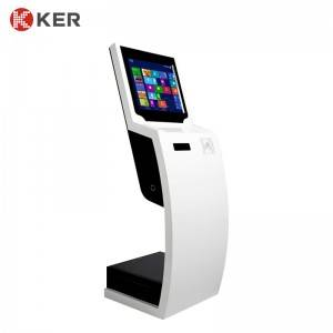 KER-T008A 21.5 Inch Capacitive Touch Information Kiosk Touch Self-service Inquiry Machine