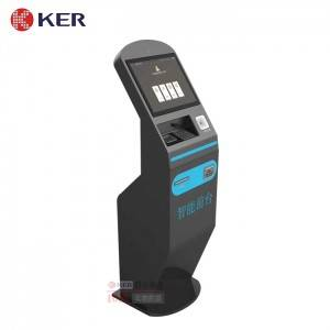 KER-DZ004A Hotel Self Check In Kiosk Self Check Out Kiosk Payment Hotel Room Cards Dispenser