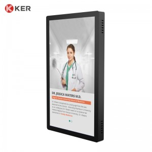 "27"" Hospital Digital Signage Triage Queuing System Doctors' Information Display"