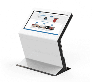 Free Standing Windows 10 Touch Kiosk 43 Inch Digital Signage Inquiry Machine Information Kiosk