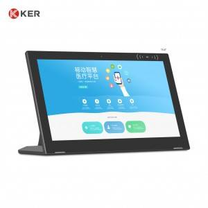 "WL1512T 15.6"" Android Tablet L Shape Android Tablet Digital Signage Lcd Food Menu Order For Restaurants"