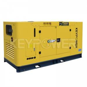 KEYPOWER 64kW/80kVA Diesel Generator Powered By LOVOL