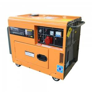 5000 w Portable Diesel Generator Set For Home Use