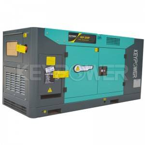 60HZ 20 kva Silent Diesel Generator Powered By FAWDE