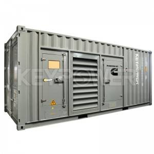 Silent Type 1250kva Diesel Generator With Cummins QST30-G4 Engine