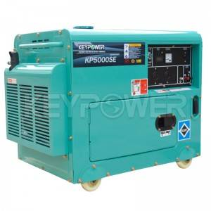 5kW Air-cooled Diesel Generator Set with Incorporated Fuel Gauge
