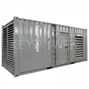1000 kva Silent Diesel Generator Powered By MTU 16V2000G25