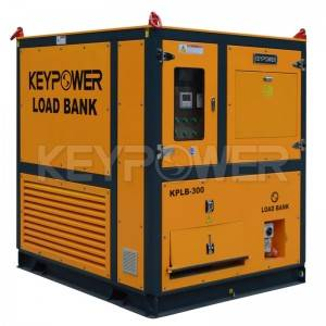 Inductive 300kW intelligent Load Bank Air Cooled Three Phase Generator Testing
