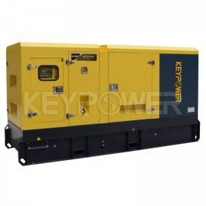 KEYPOWER 100 kva Diesel Generators Powered by Dongfeng Cummins 6BT5.9-G2