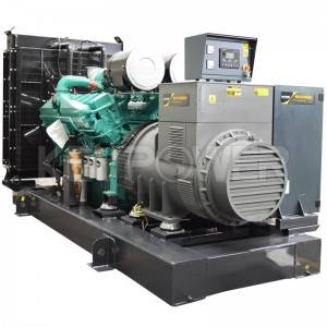 KEYPOWER Open Type Diesel Generator 1000kVA Powered By Cummins