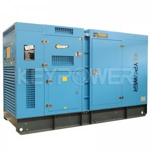 Keypower 50Hz DOOSAN 250kva Soundproof Diesel Generators Set Manufacturer in China