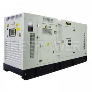 KEYPOWER 200 kVA Cummins Diesel Generator Set For Cambodia