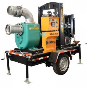 "Keypower 6"" centrifugal self-priming dewatering diesel pump set to Australia"