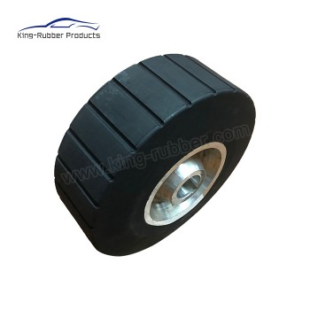 Custom high friction rubber pinch roller,rubber pinch roll,wheel