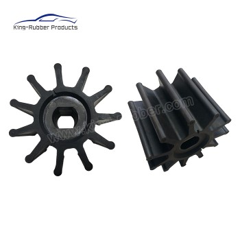 NR NBR weathering water pump rubber impeller