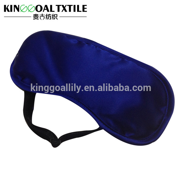 100% Silk Charmeuse Exterior Reversible Sleep Mask Adults Travel Silk Eye Mask For Women/Men