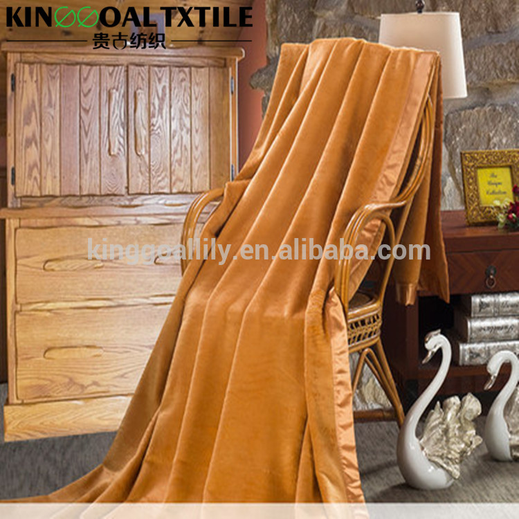 New friendly and health 100% Mulberry silk blanket throw