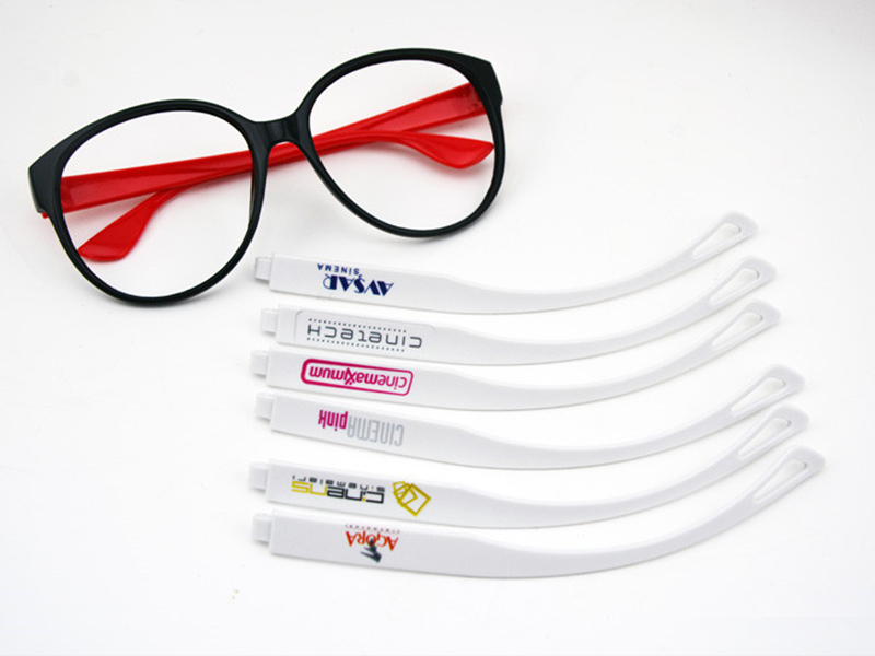 KINGT UV printer printing on glasses