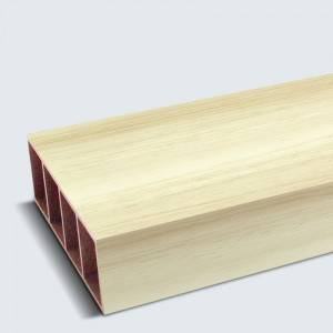 Rot-resistant high quality interior finish  WPC Square Timber
