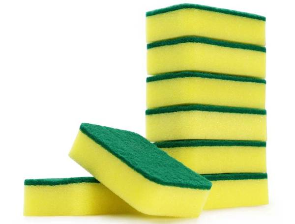 Rounded Rectangle Sponge Scouring Pad Featured Image