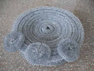 Wholesale Price Kitchen Scrubber - Galvanized Mesh Scourer Roller B44 – Yongsheng