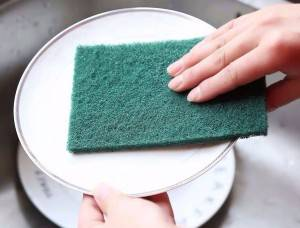 Factory Price For Metal Mesh Scourer Machine - One Side Heavy Duty Abrasive Scouring Pad – Yongsheng
