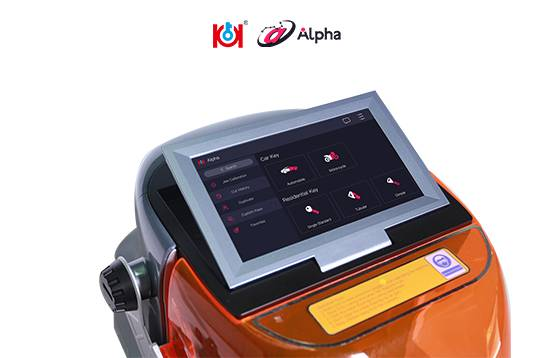 NEW!!!All in One Alpha Automatic Key Cutting Machine