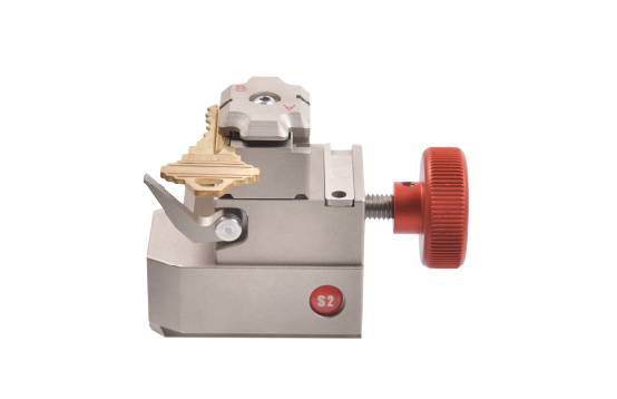 S2 single standard key jaw for Alpha key cutting machine Featured Image