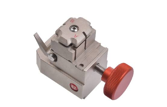 S2 single standard key jaw for Alpha key cutting machine