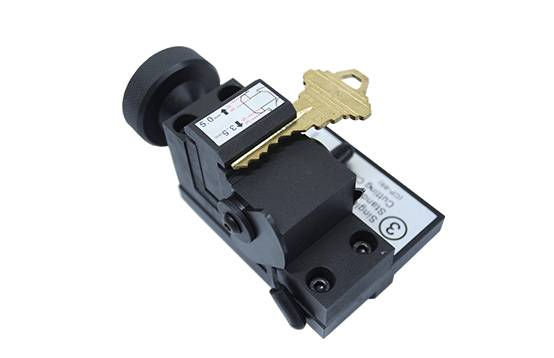 Factory Free sample Tubular Locksmith Tools - Single Sided Key Clamp SN-CP-JJ-03 – Kukai detail pictures
