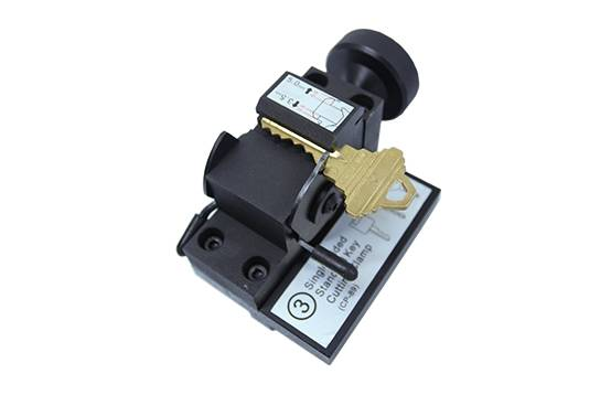 factory low price Best Auto Key Cloning Machine - Single Sided Key Clamp SN-CP-JJ-03 – Kukai