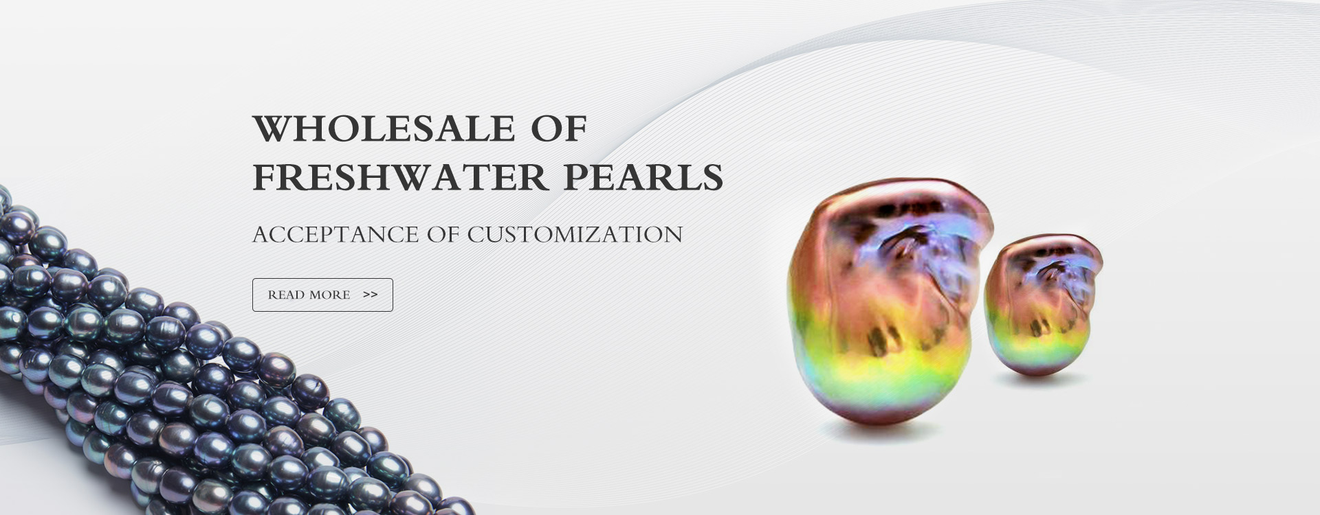 Wholesale of  Freshwater pearls