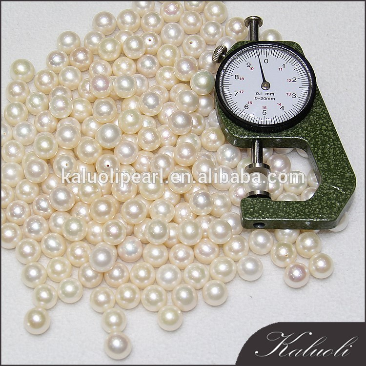 Good quality AAA 9.5 -10mm round freshwater loose perlas china natural
